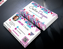 Free PSD : Creative Business Card Psd Template