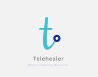 Telehealer- Logo design