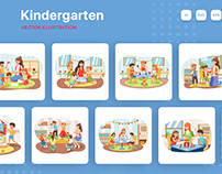 Kindergarten Illustrations