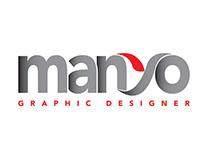 Manyo logo branding