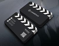 Film Clipperboard Business card