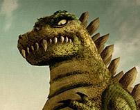 Character Design | Godzilla