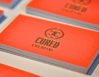 Cured Creative business cards