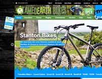 Tamed Earth Bikes - website and brand