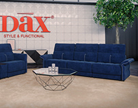 3d Modeling and visualization of the sofa