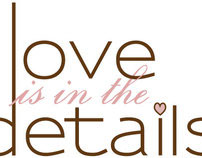 Love is in the Details Logo