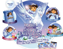 Dora - Save the snow princess