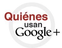 Infografía Quiénes usan Google+