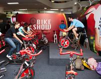Brazil Sports Show - bike xperience e running xperience