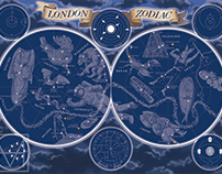 The London Zodiac for Curiocity