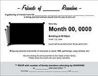 Post Card Invites