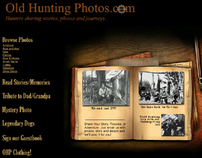 Old Hunting Photos website