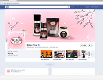 Facebook Spring Profil Picture and Cover Design