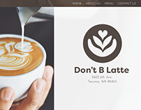Don't B Latte - Web and Mobile