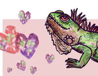 Iguana Be Your Valentine