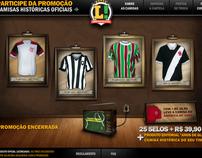 Camisas Históricas Oficiais - Lance!
