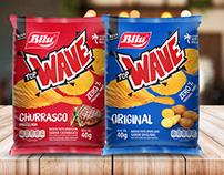 Embalagem para batata frita Wave