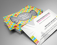 VPA Corporate Business Cards and New Web UI Design