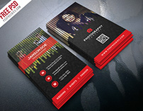 Free PSD : Professional Photographer Business Card PSD