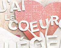 Love inspiration / Inspiration de l'amour