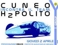 """CULTURAL EVENT :THE CAR  """"IDRA 08"""", TEAM: """"H2POLITO"""""""