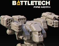 Fire Moth Mech
