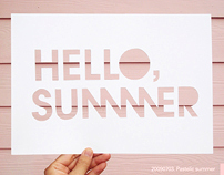 2009 Personal Project_ Hello,Summer