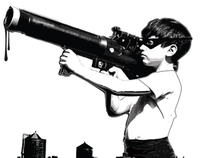 Kid with Bazooka - ART & TEE's
