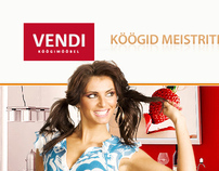 Vendi - kitchens in Tallinn, Estonia.