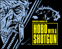 Hobo with a Shotgun - Movie Poster