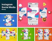 Instagram Social Media Mockup
