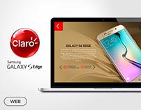 Microsite design - La era S6 Claro Ecuador
