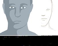 Silhouette portrait en animation traditionnelle
