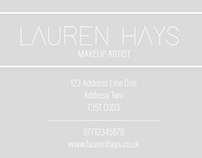 Makeup Artist | Business Cards