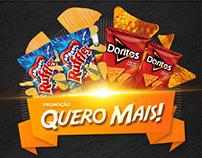 Promoção Quero Mais Ruffles & Doritos!