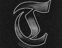 Black letter experiment