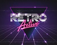 Retro Active - 80's Retro Text