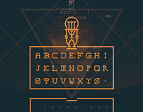 Typograph - letters & signs - Poster, picture etc.
