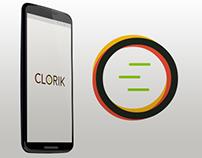 UI, Logo Design, Branding Clorik Mobile App - eCom