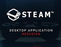 Steam Desktop Application Redesign