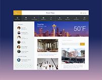 UI Design Challenge - Travel Application