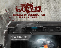 W.O.D - game web site