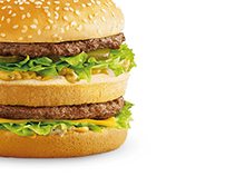 Web design Mcdonald's website
