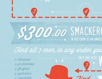 Monocle Man Challenge Poster