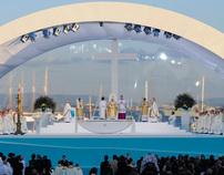RECEPCION OF THE POPE BENEDICT XVI