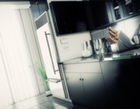 Corp. Kitchen - Architectural 3D Renderings