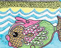 Fantasy fish illustration