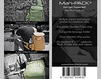 Man-PACK Product Tag (Backpack Tag)