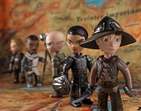 Tiny Dragon Age Companions