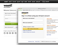 Woot – Amazon Login & Payments Integration
